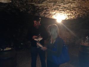 L'intimité d'une cave bourguignonne