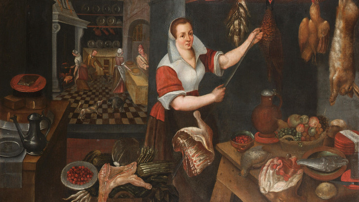 Jean-Baptiste_de_Saive_(circle)_Kitchen_interior_with_maid_1563