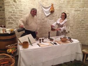 Le maître tavernier et sa dame aubergiste