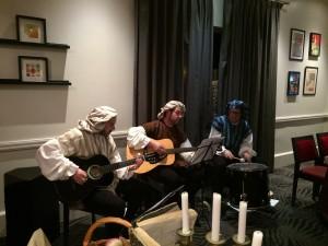 Trio de troubadours